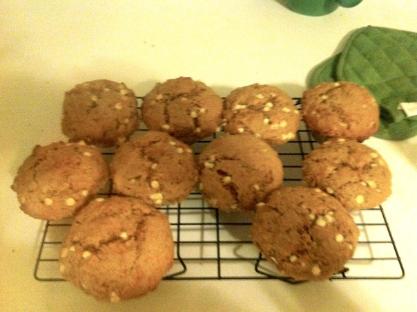 sourdough carrot cake muffins