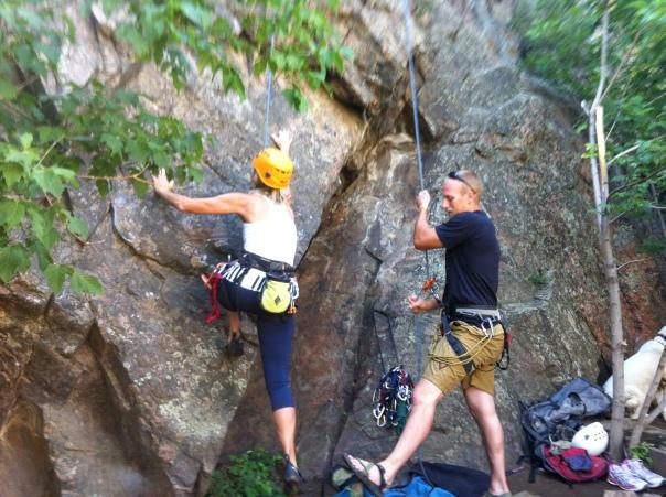 Clear Creek climbing